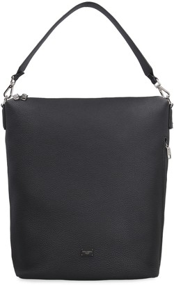 Dolce & Gabbana Pebbled Leather Hobo-bag