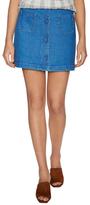 Paul & Joe Sister Cotton Denim Button A-line Skirt