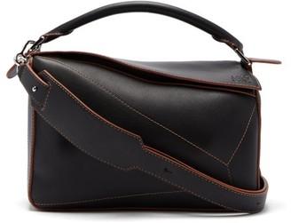 Loewe Puzzle Leather Cross-body Bag - Black