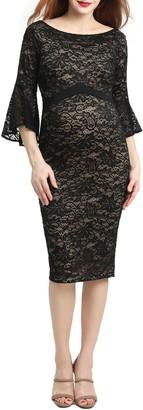 Kimi and Kai Lena Maternity Body-Con Dress