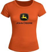 John Deere For Ladies Womens T-shirt Tee Outlet