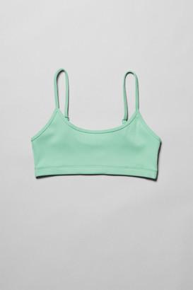Weekday Ophelia Soft Bra - Green