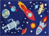 Bright Kids Space Man Kids Rug, Small