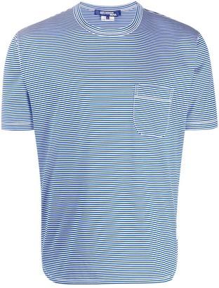 Junya Watanabe side-slit striped T-shirt