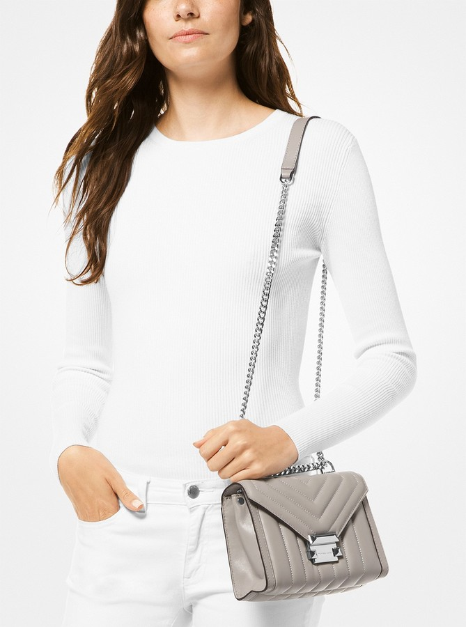 b48b116217d9 MICHAEL Michael Kors Gray Crossbody Shoulder Bags - ShopStyle