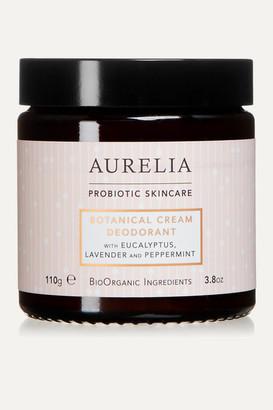 Aurelia Probiotic Skincare + Net Sustain Botanical Cream Deodorant, 110g