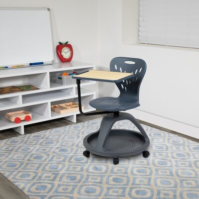 """Thumbnail for your product : Flash Furniture 20"""" Cantilever Classroom Chair"""