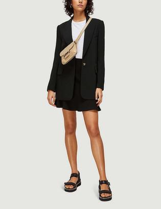 Whistles Flippy stretch-jersey mini skirt