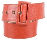 Lanvin Wide Waist Belt