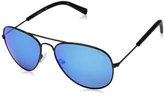 Nautica Men's N4631sp N4631SP-001 Polarized Aviator Sunglasses