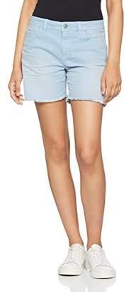 Esprit edc by Women's 057CC1C012 Slim Shorts - Blue - UK 10