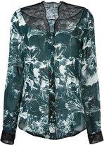Ungaro floral print blouse