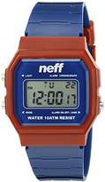 Neff Unisex NF0226NVMR Flava XL Surf Digital Display Chinese Automatic Blue Watch
