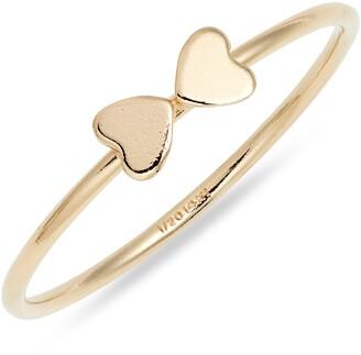 Set & Stones Terra Double Heart Ring