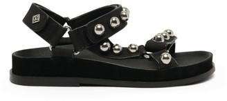 Sandro Paris Embellished Velcro Sandals