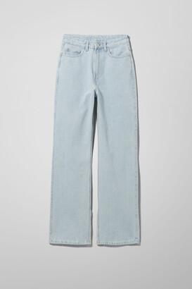 Weekday Rowe Split Jeans - Blue