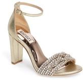 Badgley Mischka Women's Tessa Crystal Embellished Sandal