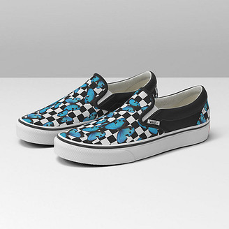 Vans Butterfly Checkerboard Classic Slip-On