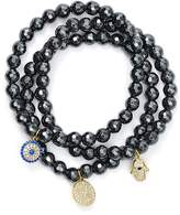 Aqua Beaded Bracelets, Set of 3 - 100% Exclusive