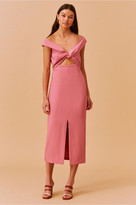 Finders Keepers MAE MIDI DRESS pink