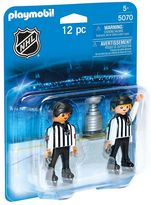 Playmobil NHL Referees with Stanley Cup Playset - 5070