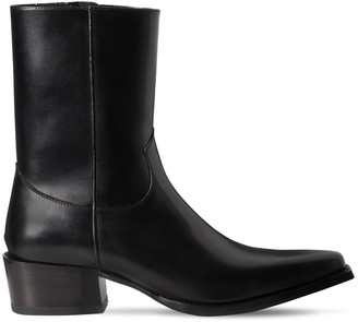 DSQUARED2 55mm Zip-Up Leather Boots