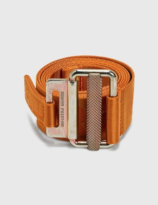 Heron Preston 4cm Classic Buckle Tape Belt