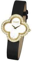 Van Cleef & Arpels Alhambra Sertie Yellow Gold Watch, Small