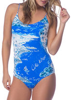 Polo Ralph Lauren Graphic-Printed One-Piece Swimsuit