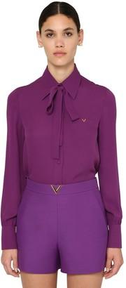 Valentino Silk Georgette Shirt