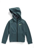 Nike Toddler Boy's 'Therma' Dri-Fit Zip Hoodie