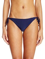 Shoshanna Women's Bahamas Beading Clean String Bikini Bottom