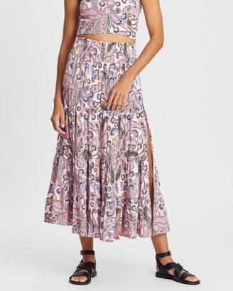 Cartel & Willow Florence Split Maxi Skirt