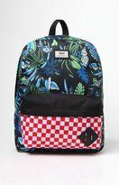 Vans Old Skool II Black & Green Backpack