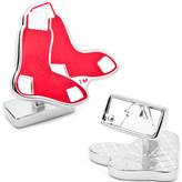 Cufflinks Inc. Men's Palladium Boston Red Sox Cufflinks