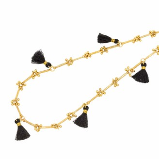 """Abbott Collection 52-ATHENA-10 Necklace w/Clusters&Tassels-43"""" L"""