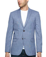 Jf J.Ferrar Slim Fit Pattern Sport Coat - Slim