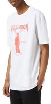 Topman Men's Full Moon Graphic T-Shirt
