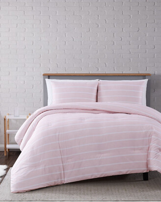 Truly Soft Maddow Stripe Blush Comforter Set
