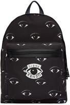 Kenzo Black Allover Eye Backpack