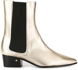 Laurence Dacade Valdo metallic boots