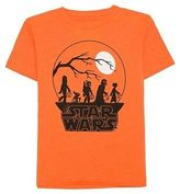 Star Wars Toddler Boys' Long Sleeve T-Shirt - Orange