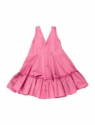 No. 21 X Kartell No. 21 for Kartell Flared Mini Dress Pink No. 21 for Kartell Flared Mini Dress