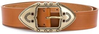Isabel Marant Western buckle belt
