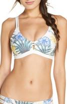 Hurley Max Lanai Scoop Surf Bikini Top