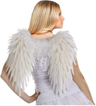 Fun World Costumes Women's Deluxe Feather Angel Wings