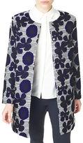 Precis Petite Floral Jacquard Coat