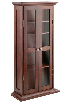 Winsome Wood Holden Media Cabinet Walnut finish - 8' x 10'
