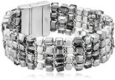 """Kenneth Cole New York City Scape"""" Woven Mixed Bead Bracelet"""