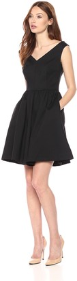 French Connection Women's Glass Stretch Structured Dress